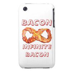 Bacon Infinite Bacon iPhone 3 Case-Mate Case