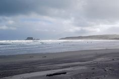 Westport beach, New Zealand