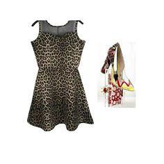 Vestido Leopardo- ❤ Animal Print Página: Vestidos Tam : G e GG✅ R $ 360,00  Compre pela loja virtual ou whats www.loucacomomequeres.com.br 61 - 8264-6852  #LCMQ #loucacomomequeres #moda #fashion #uselouca  #compreagora #vestidoleopardo #animalprint #diadosnamorados #love #moda #fashiondesigner #dress
