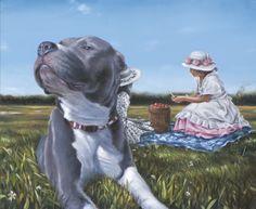 """David Lihard """"Le déjeuner sur l'herbe"""", huile sur toile, 54 x 65 cm, 2011"""