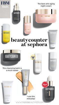 Beautycounter at Sephora. The clean beauty products you can buy at Sephora.