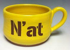 N' at Pittsburgh Pottery Mug