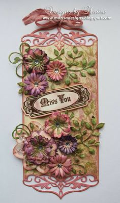 JustRite Papercraft December Release - Just a Note Vintage Sentiment Tags