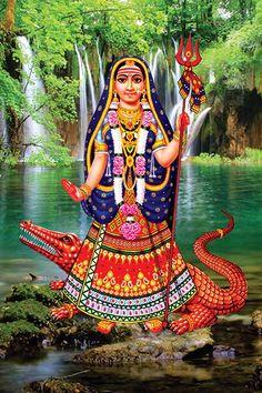 Maa Wallpaper, Wallpaper Gallery, Maa Pic, Kali Goddess, Indian Goddess, Indian Flag Images, Maa Image, Happy Navratri Images, Hindu Deities