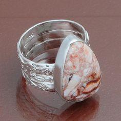 925 STERLING SILVER ORIGNAL ROSSITT RING 7.55g DJR4048 #Handmade #Ring