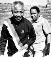 The two Heros of South Africa during the struggle of apartheid.
