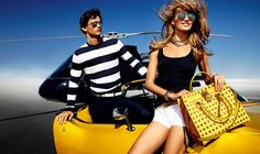Karmen Pedaru is California Glam for Michael Kors Spring 2013 Campaign by Mario Testino