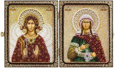 CE7207 St. Great Martyr. Photina (Svetlana)&Holy Guardian Angel