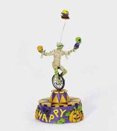 """Department 56: General Village Halloween - """"Mummy Mischief"""" - #56.53148 - $30.00 - Intro Dec 2003 - Retired Dec 2005"""