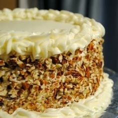 Italian Cream Cake, super moist! My family and friends loved it!