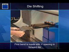 Press Brake - I-Axis Die Shift