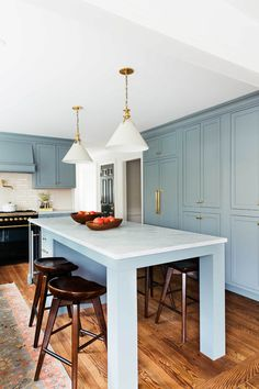 Colonial Kitchen Transformation with Inset Cabinetry -