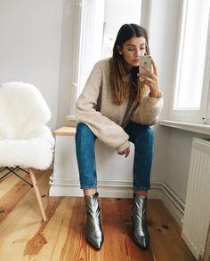 Looks Style, Style Me, Hippie Stil, Winter Stil, Vogue, Mode Inspiration, Mode Style, Autumn Winter Fashion, Love Fashion