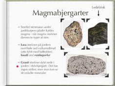 Geologi - Sten og krystaller