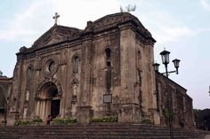 Nuestra Senora de Gracia Church in Manila Philippines Immaculate Conception Cathedral, Ancient Greek Architecture, Gothic Architecture, Puerto Princesa, Street Image, Cebu City, Quezon City, Manila Philippines, Old Churches