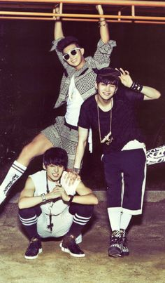 Jungkook, Rap Monster, Suga