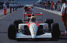 Ayrton Senna, McLaren MP4/6 - Honda V12 Hockenheim, 1991.