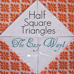 Tutorials10 - Half-Square Triangles