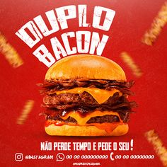 Burger Social Media projects   Fotos, vídeos, logotipos, ilustrações e identidade visual no Behance Menu Design, Food Design, Layout Design, Ads Creative, Creative Advertising, Photoshop Tutorial, Adobe Photoshop, Food Banner, Instagram Design