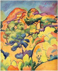 impartart: Georges Braque, Landscape at La...