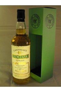 Royal Lochnagar Distillery 1996 17Y/O 57.4%vol Rum Cask