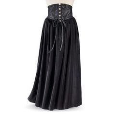 Cross-Laced Renaissance Skirt