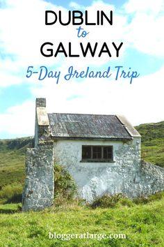 Explore the wonders of Ireland on this 5-day trip! #travel #ireland #europe #trip #dublin