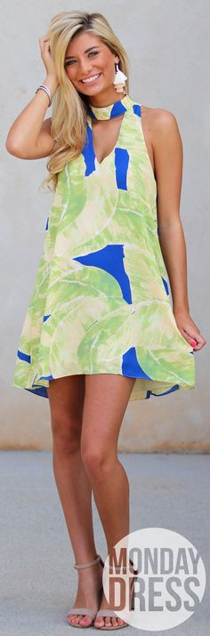 Island Chic Dress | Monday Dress Boutique