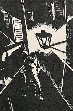 Hasengasse, Rudolf Wirth, Jugend magazine, 1929.