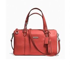 NWT COACH Sienna Avery Leather Satchel Shoulder Crossbody Bag 26121 #Coach #Satchel