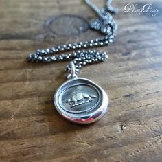 Industry and Perseverance Wax Seal Necklace of by PlumAndPoseyInc Follow us on FaceBook for advance notice on sales, new products and one of a kind pieces. https://www.facebook.com/PlumandPoseyInc  Receive 10% off plum & posey online orders with code: PINTEN valid on the #plumandposey ETSY & Website shops #waxseal #waxsealjewelry