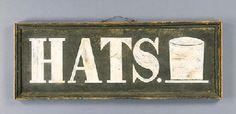 sign, 19th century, Christie's