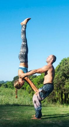 Boho leggings : harem pants : yoga pants : couples yoga : acro yoga