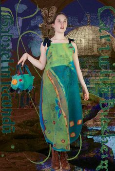 Alice in wonderland women art dress by ArianeMariane on Etsy, €780.00