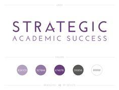 Academic Logo Design / #smallbusiness #branding