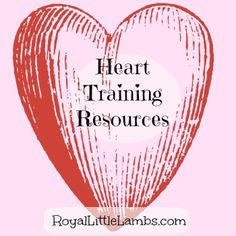 I've compiled a list of heart training resources for families and Bible studies for children to complete with parent involvement. For Parents: 1. Lead Your Family Like Jesus This is a great leaders...