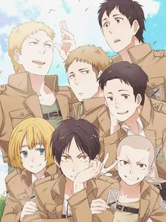 Boys from the 104th Trainee Squad
