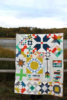 Modern Sampler Quilt | Flickr - Photo Sharing!