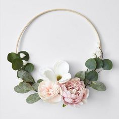 Turn a boring wall into a focal point with our faux floral decorative hoop. The bamboo and floral pieces will add warmth to your room, creating a cosy. Floral Hoops, Decorative Accessories, Cosy, Target, Bamboo, Australia, Nursery Ideas, Wall, Homes