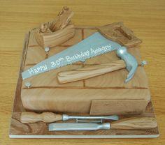 Carpenters Tools Cake