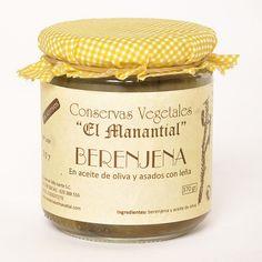 Una conserva vegetal de berenjena. Elaborada artesanalmente, son asadas con leña, peladas a mano y envasadas en aceite de oliva. #Local #Food #Slow #Artesanal #Artesano #Hortalizas