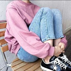 grunge Aesthetic outfits An emo - Soft Grunge Outfits, Pastel Grunge, Trendy Outfits, Girl Outfits, Cute Outfits, Fashion Outfits, Pastel Goth, Ootd Fashion, Mode Grunge