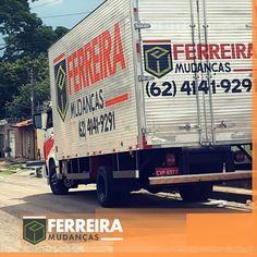 Empresa de mudanças em Goiânia, 1° opção no quesito qualidade, conheça já os serviços da FERREIRA MUDANÇAS. 1, Trucks, Truck