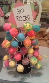 Funfetti Cake Pops with Pop Rocks for a birthday. Just sayin this will be great in March Cupcake Cakes, Cupcakes, Funfetti Cake, Pop Rocks, 30th Birthday, Gift Baskets, Cake Pops, Baked Goods, Birthdays
