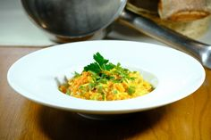 Ragú z červenej šošovice a zo zeleniny - recept | Varecha.sk Risotto, Ethnic Recipes, Fit, Shape