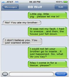 Create fake text conversations between characters in a book and have students complete the conversation!