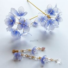 [ MDZS/ The Untamed FF] by KavyaAgnihotri (Kavya) with 232 reads. Cute Jewelry, Jewelry Accessories, Nail Polish Flowers, Wire Flowers, Hair Jewels, Fantasy Jewelry, Hair Ornaments, Resin Jewelry, Hair Pins
