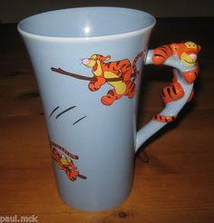 Tigger mug with Tigger on handle