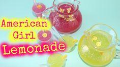 American Girl Doll Lemonade
