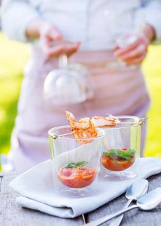 Party Finger Foods, Appetisers, Good Mood, Starters, Appetizer Recipes, Tapas, Shrimp, Foodies, Food And Drink